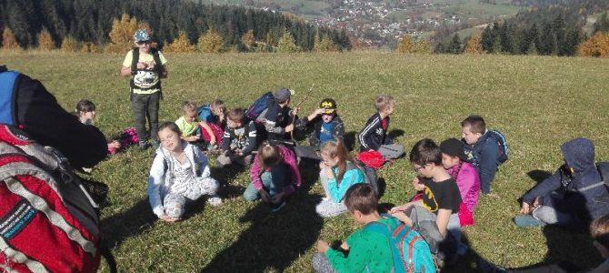 Lekcja w górach – wycieczka klas czwartych